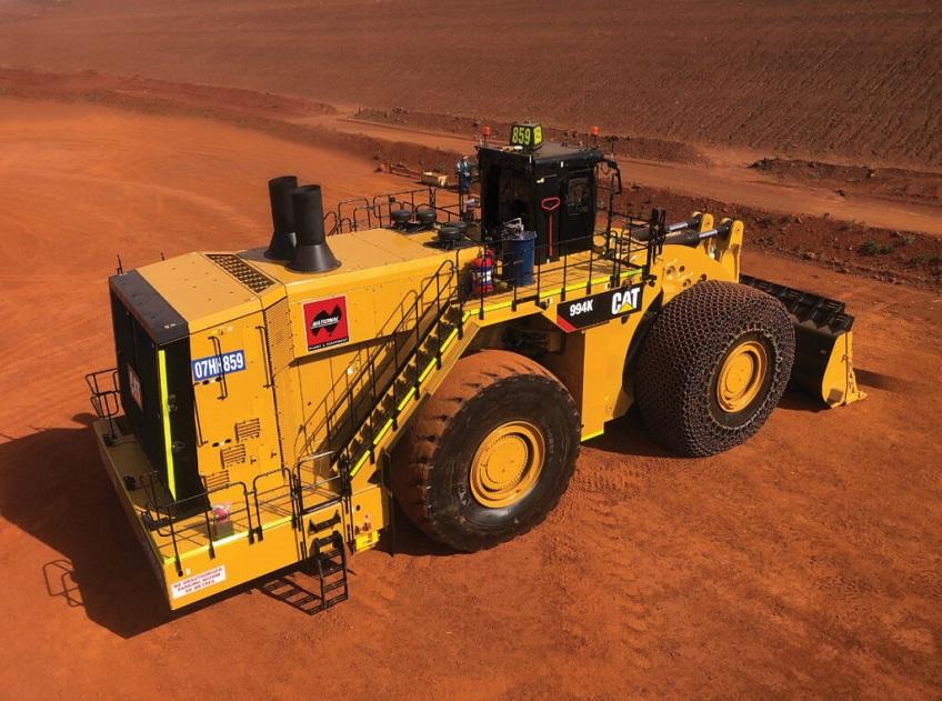 cat-994K-wheel-loader-construction-site