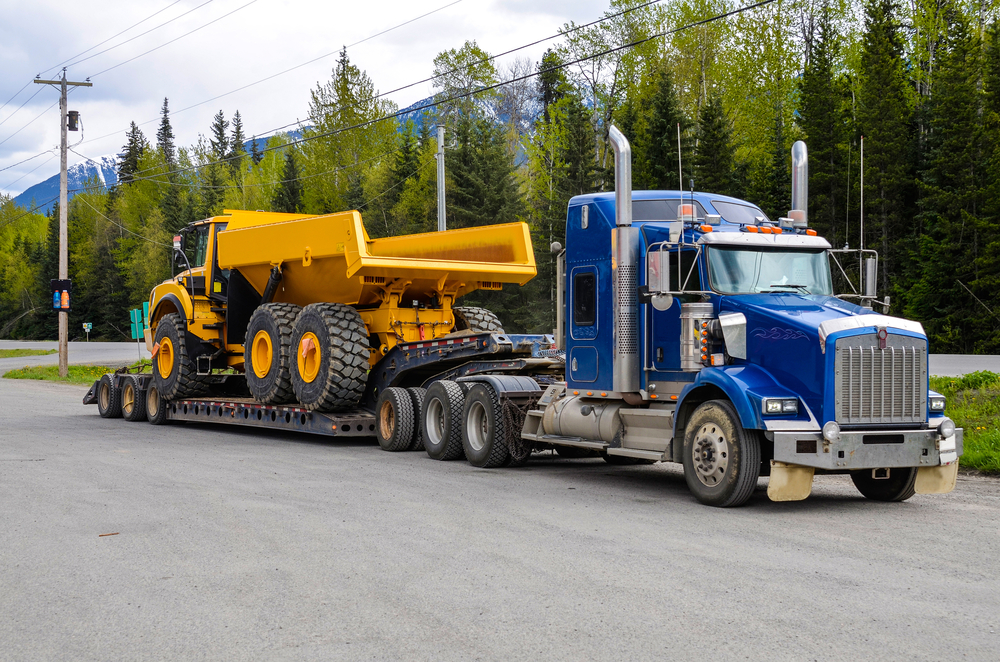 construction machine transport