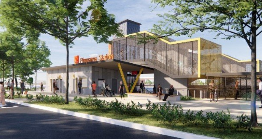 pimpama-train-station